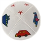 Suede Transportation Kippah