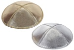 Bulk Leather Lame Kippot - No Imprinting