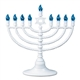 Plastic Electric Menorah