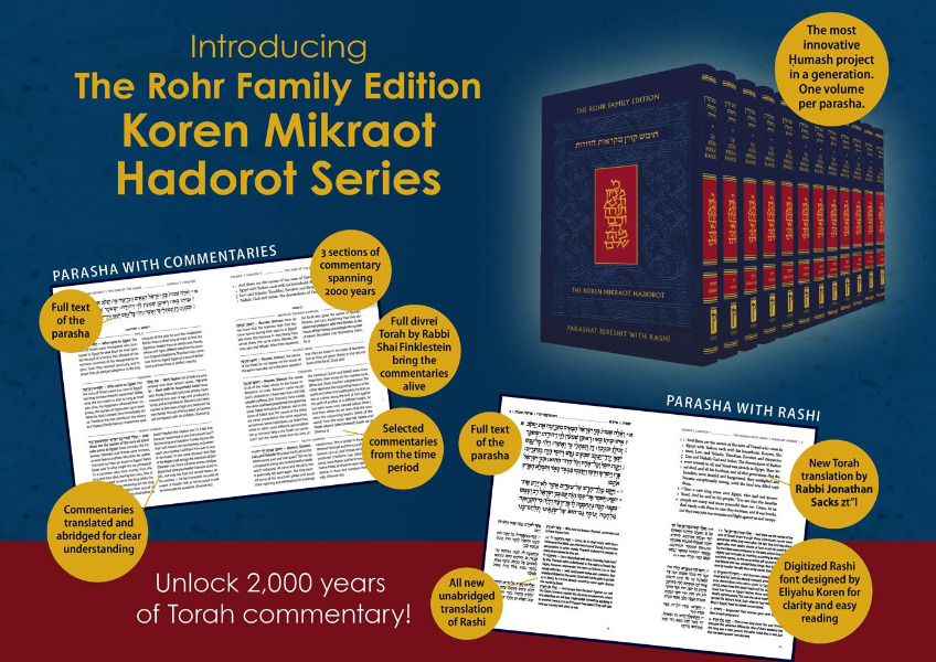 The Koren Mikraot Hadorot Series